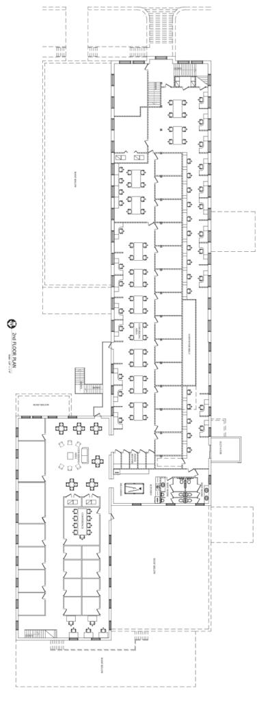 CoWorkTampa - 2nd Floor Plan
